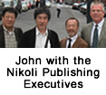 John with the Nikoli Publishing Executives